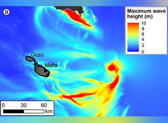 Tsunami study Oceanography University of Malta