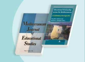 Book covers of MJES journal and book series