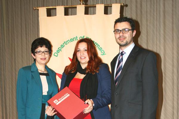 Actavis Award for Best M. Pharm. Student Presentation