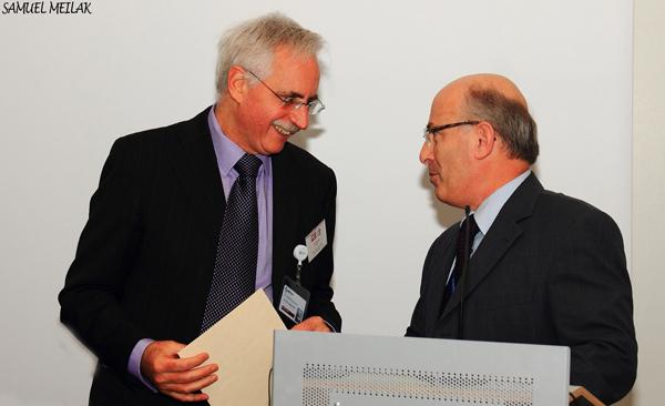 De Giovanni and Prof. Laferla