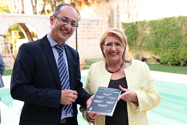 Dr David Mifsud and the President of Malta