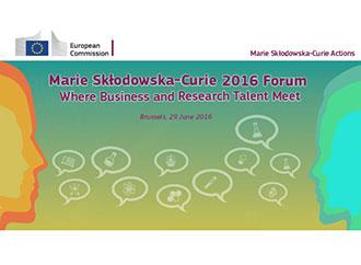 Marie Skłodowska-Curie 2016 Forum