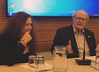 Prof. Lauri Lucente and Prof. Peter Vassallo