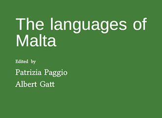 Book cover - The Languages of Malta