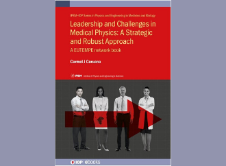 First ever book on leadership for the Medical Physics healthcare