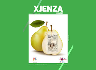 Front cover of Xjenza Vol 8 Issue 1