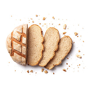 bread and breadcrumbs