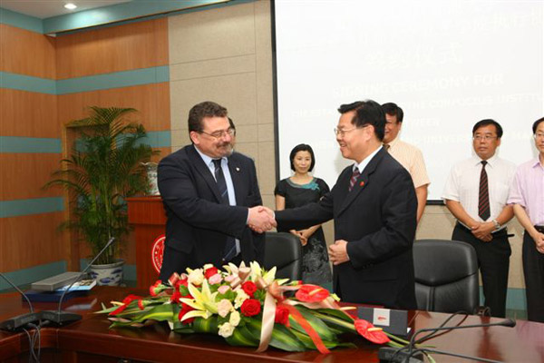 Agreement for a Confucious Institute at the University of Malta
