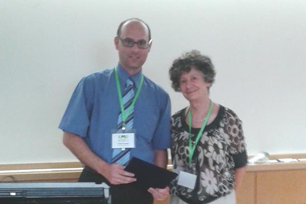 Dr Ing. Farrugia and Prof. Gabriela Goldschmidt