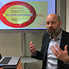Prof Ronald Batenburg delivers a workshop