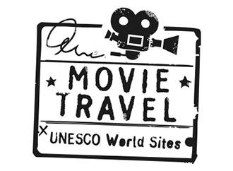 Famous movie travel logo
