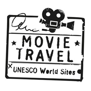 Famous movie travel logo