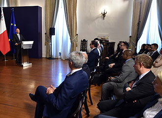 MEDAC Meets with the Hon. Prime Minister of Malta, Dr Joseph Muscat