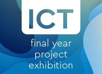 ICT exhibition poster