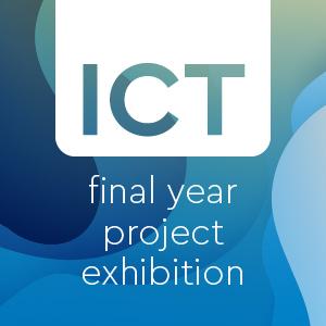 ICT exhibition poster
