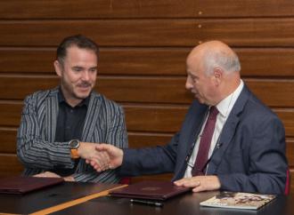 Mark Weingard and the UM Rector