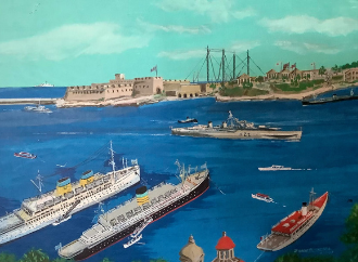 painting by john b. saliba
