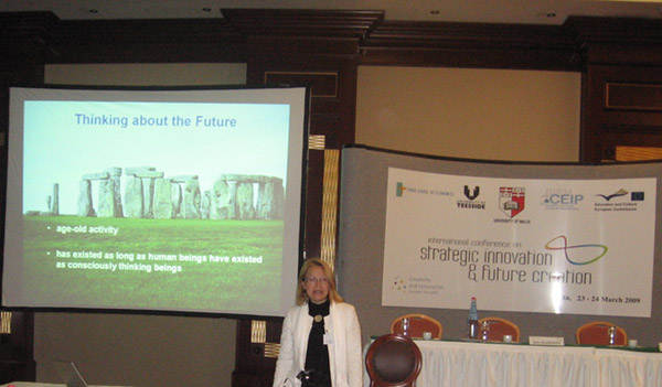 The First International Conference on Strategic Innovation and Future Creation (Mar. 09)