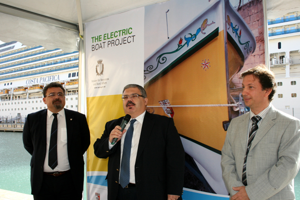 Electric Boat Project