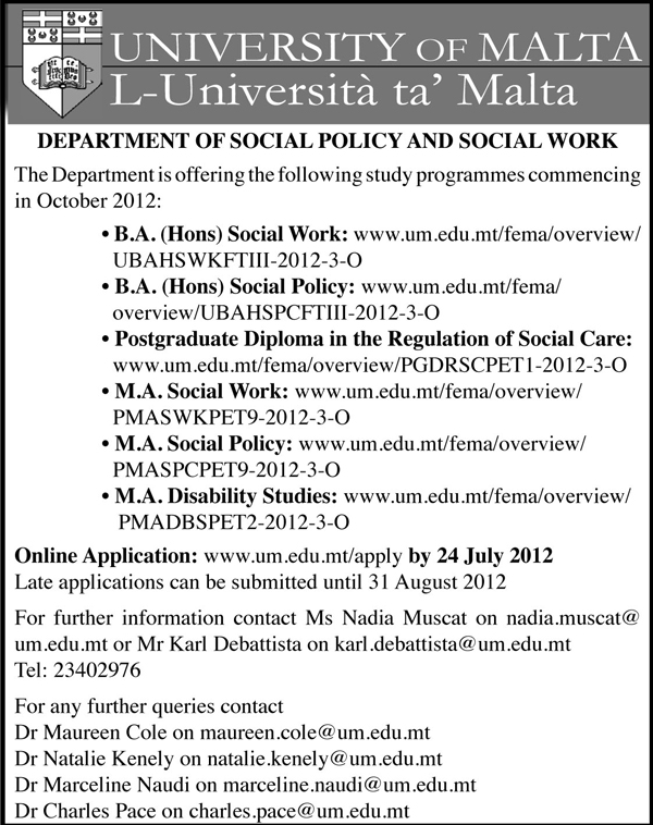 social policy coursework Coursework is designed to provide students with core knowledge and skills as well as the opportunity to develop an area of specific expertise.