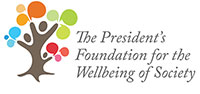 The President's Foundation for the Wellbeing of Society logo