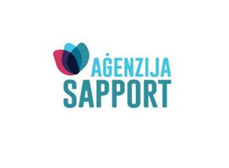 Aġenzija Sapport logo