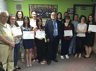 Group photo - Tradutech session