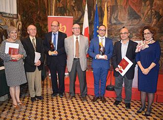 Group photo - Malta Historical Society Awards