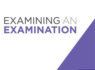 Examining an examination