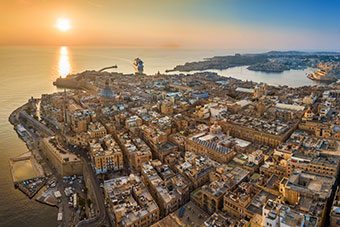Valletta and Grand Habour