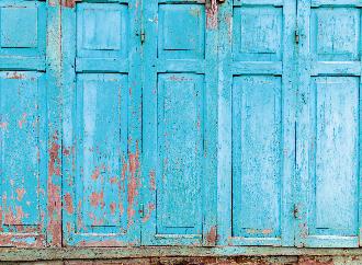 Old Mediterranean door