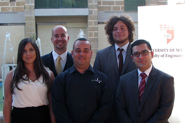 Econetique sponsors Engineering Projects at University of Malta