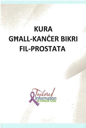Translation into Maltese booklets on cancer care