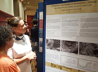Poster on stone deterioration and conservation