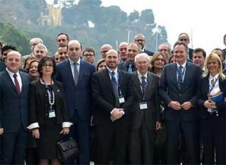 Group photo with Nicholas Sammut