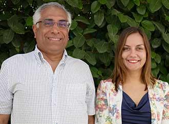 Prof. Joe Cannataci and Dr Aitana Radu