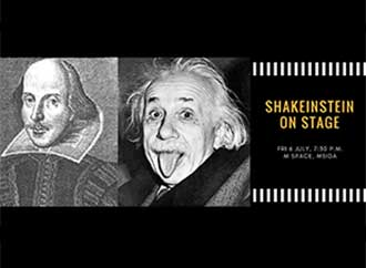 Shakeinstein poster