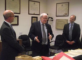 Mr Kevin Ellul, Prof. Peter Vassallo, Prof. Godfrey Baldacchino