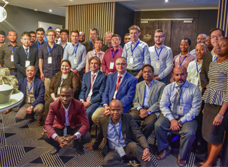 Conference participants at 2019 IEEE Conference