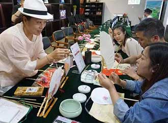 Chinese handicraft session