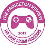 The Princeton Review 2019 Top Game Design Programs