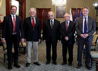 MEDAC courtesy call with H. E. President George Vella