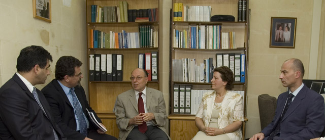 Rector's visit to the UGC