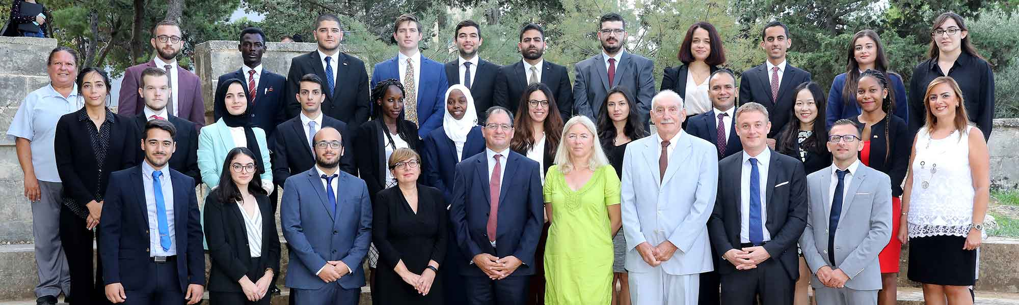 MEDAC students and staff - 2019