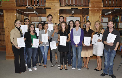 Foreign Students Learn Maltese