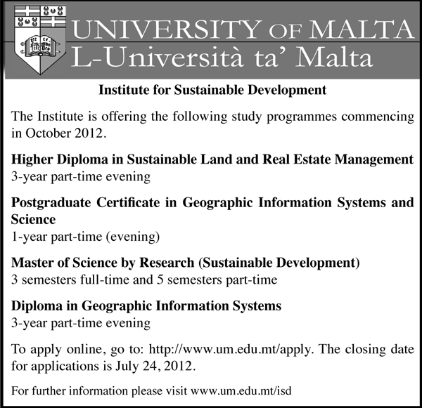 Courses in Sustainable Development