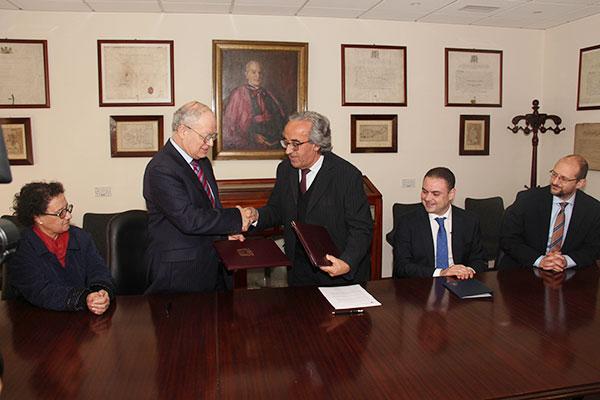 L-Iffirmar ta' Ftehim bejn l-Università ta' Malta u Heritage Malta