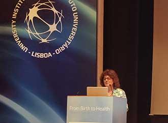 Rita Borg Xuereb at Conference