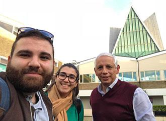 Dr John Ebejer, Clara Gatt and Jordan Caruana