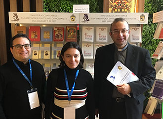 Rev. Dr Kevin Schembri, Ms Dorianne Buttigieg and Rev. Prof. Hector Scerri